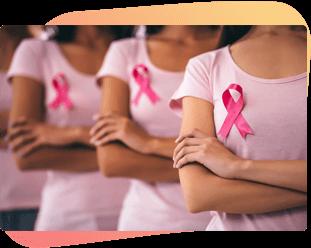 Mulheres do Projeto OncoSuperação